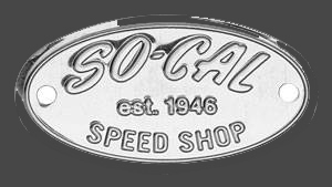 So-Cal Speed Shop Stainless Steel Badge