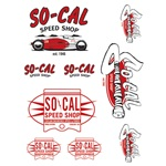 So-Cal Speed Shop Belly Tanker Sticker Sheet