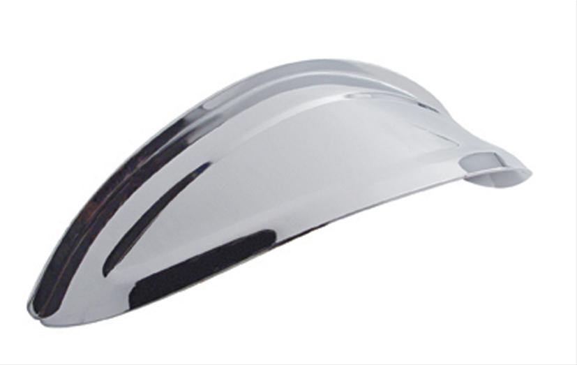 Chrome Headlight Visor