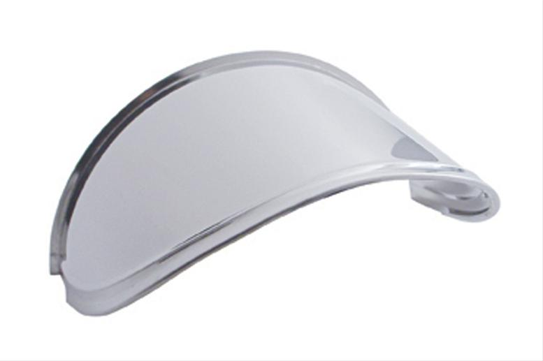 Stainless Steel Extended Headlight Visor