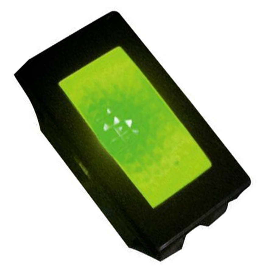 Rectangle Indicator Green