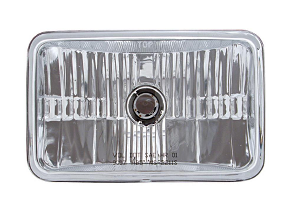 Small Rectangle Headlight with Hi and Low Beam 6in X 4in