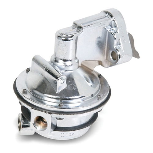 Mechanical Fuel Pump Small Block Chevy Chrome