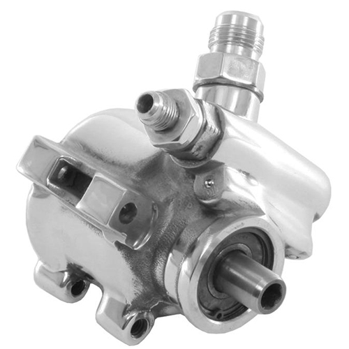 Chrome Type II Power Steering Pump