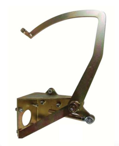 1955-1959 Chevy Truck Underfloor Brake Pedal Assembly
