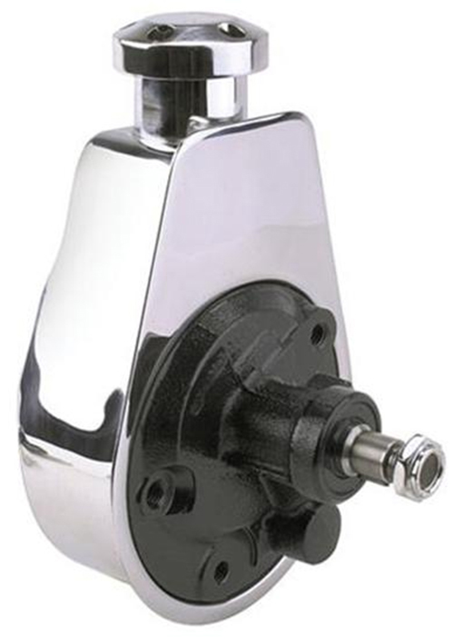 Chrome Saginaw Style Power Steering Pump