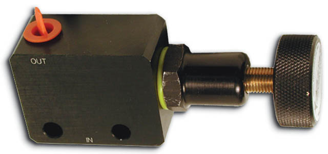 Adjustable Proportioning Valve Black