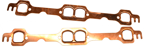 SB Chevy Copper Header Gaskets D Port