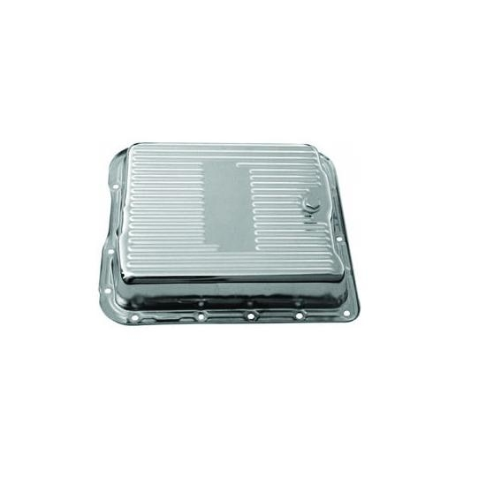 700R4 and 4L60 Transmission Pan Chrome Steel