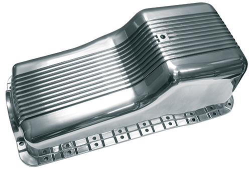 Finned Small Block Ford 289-302 Aluminum Oil Pan