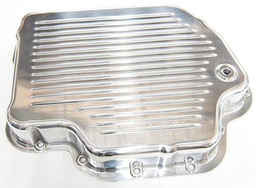 Polished Aluminum Trans Pan Fits GM Turbo 400