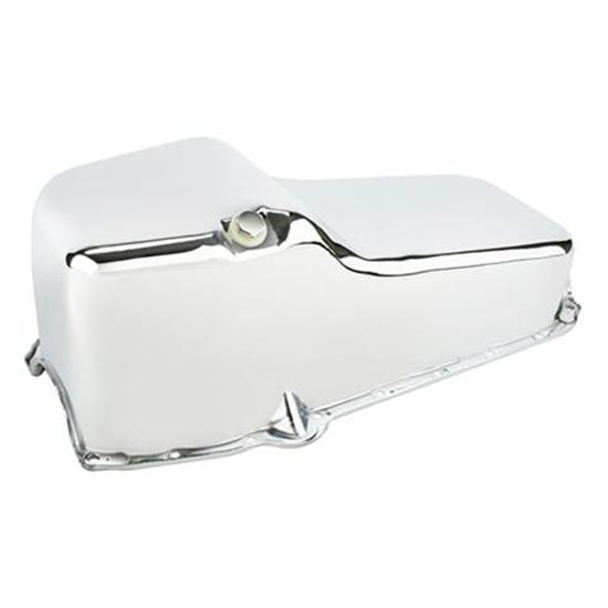 Chrome Oil Pan Small Block Chevy 55-79