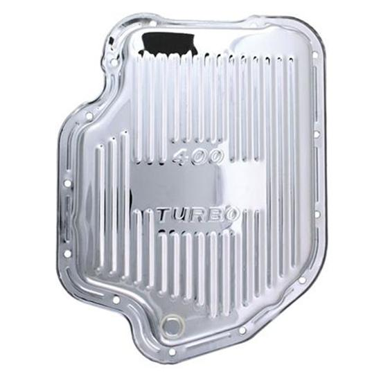 Turbo 400 Transmission Pan Chrome Steel