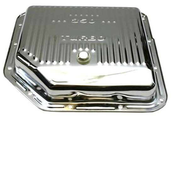 Turbo 350 Transmission Pan Chrome Steel