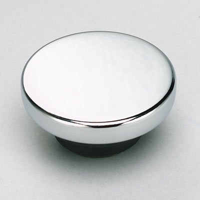 Chrome Oil Plug plain top
