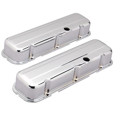 Chrome Big Block Chevy Valve Covers Short