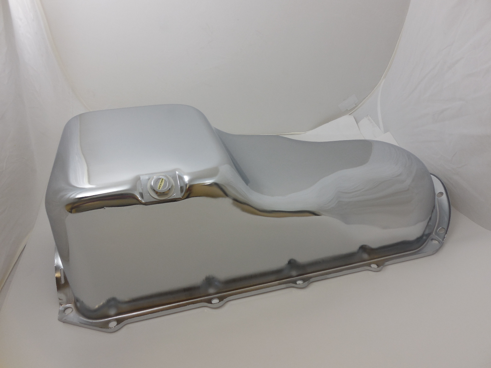 Chrome Pontiac V8 Oil Pan