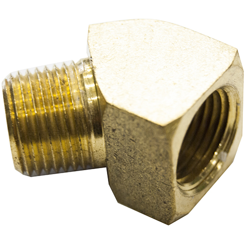 "1/4"" 45 Street Elbow Brass Fitting"