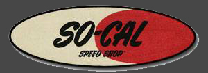 So-Cal Speed Shop Embroidered Logo Patch