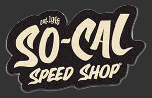 So-Cal Speed Shop Script Felt Patch