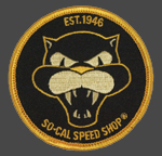 So-Cal Speed Shop Vicious Round Patch