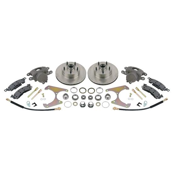 37 - 48 Ford Disc Basic Brake Kit 4.75""
