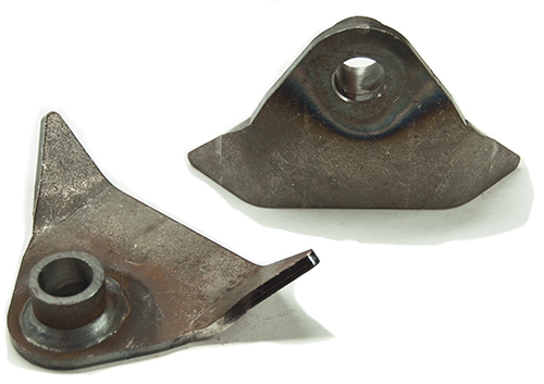 "Weld On Radius Rod Brackets 2-3/8"" Tall with 5/8"" Hole"