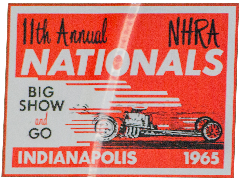1965 NHRA 11th Nationals Decal