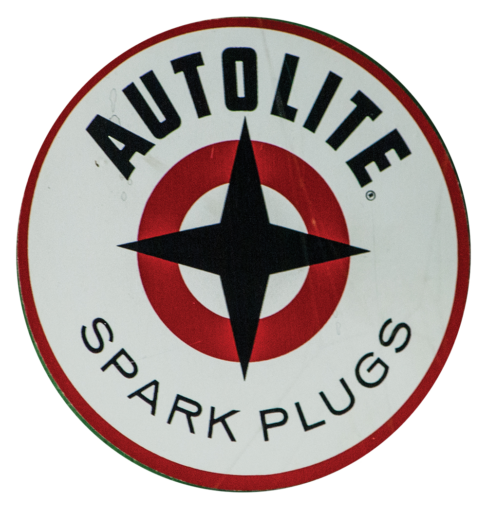 Autolite Ford Round Decal