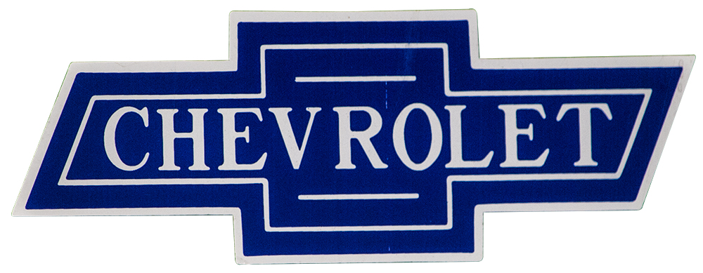 Small Chevrolet Bowtie Decal