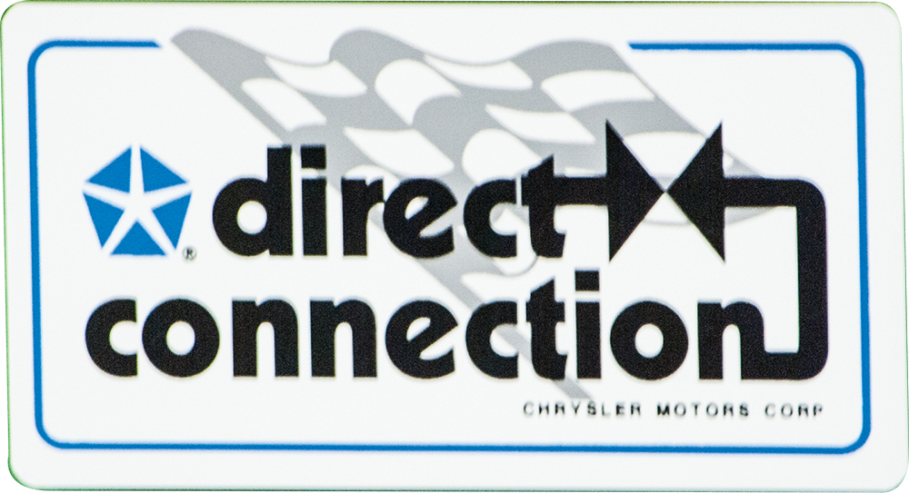 Direct Connection Mopar Decal