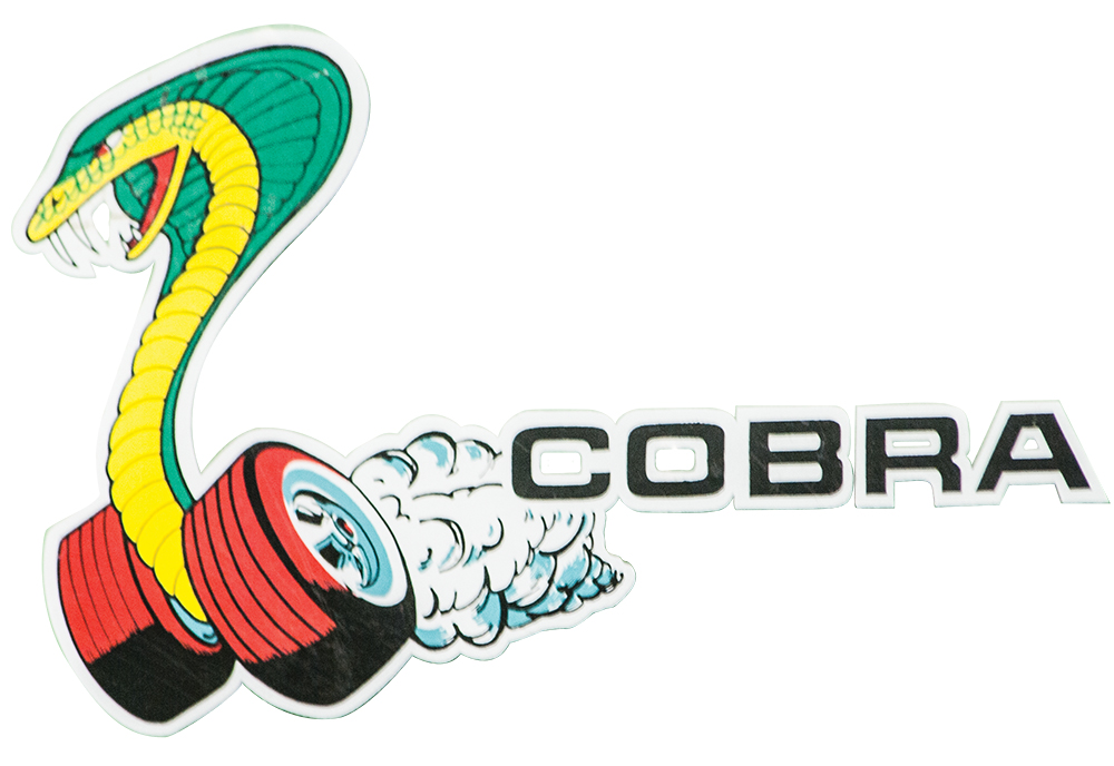 Cobra Ford Decal Sticker