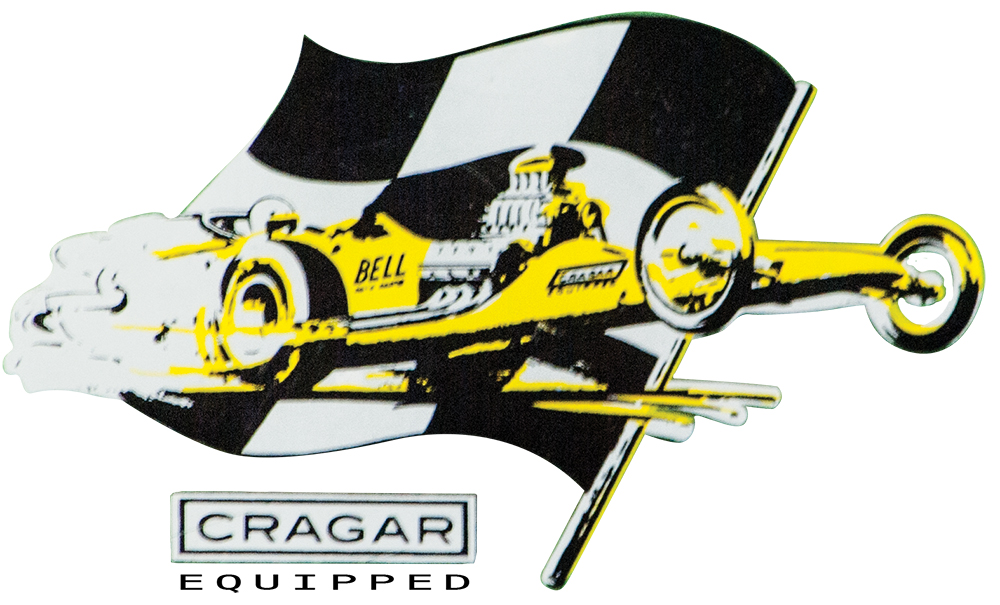 Cragar Front Engine Dragster Decal