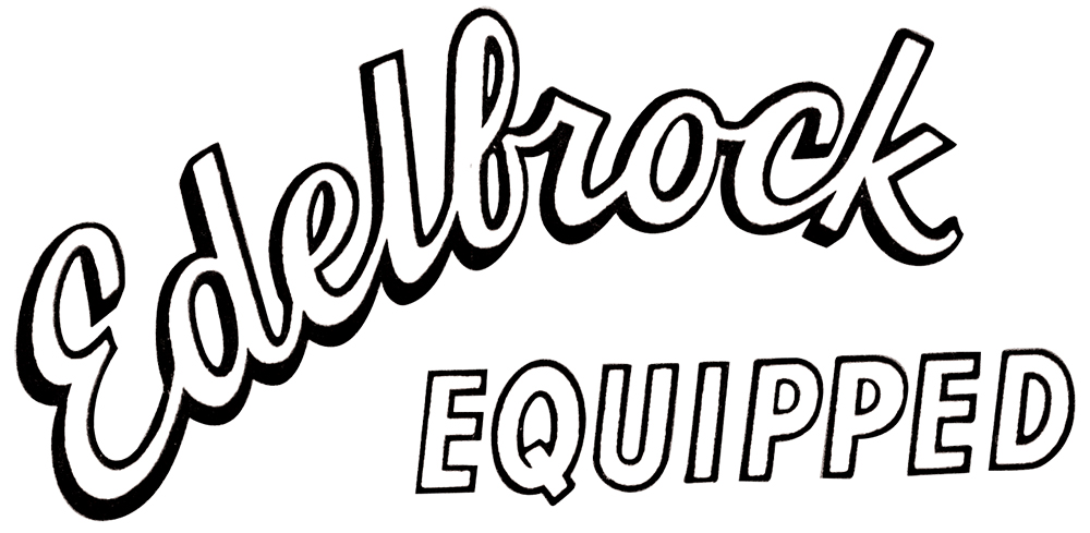 Edelbrock Window Decal