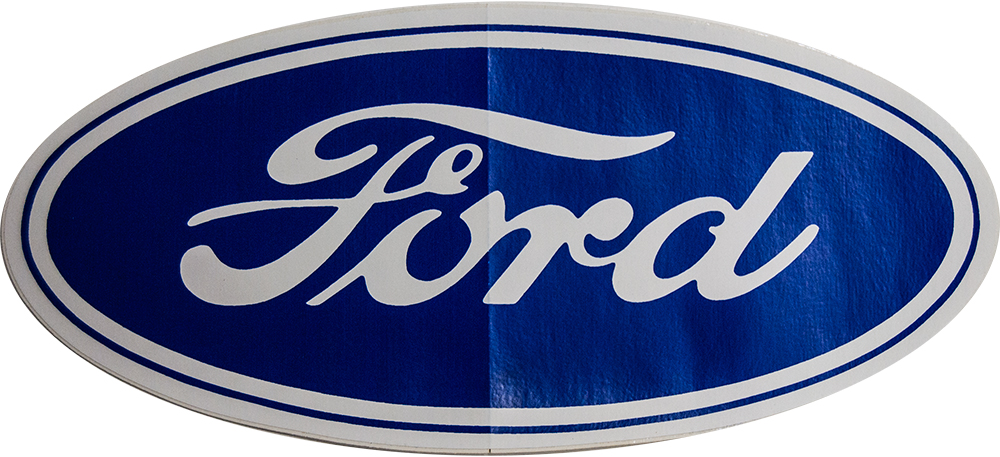 Large Ford Oval Decal