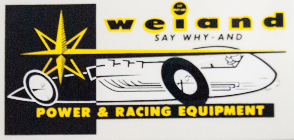 Weiand say Why-And Decal
