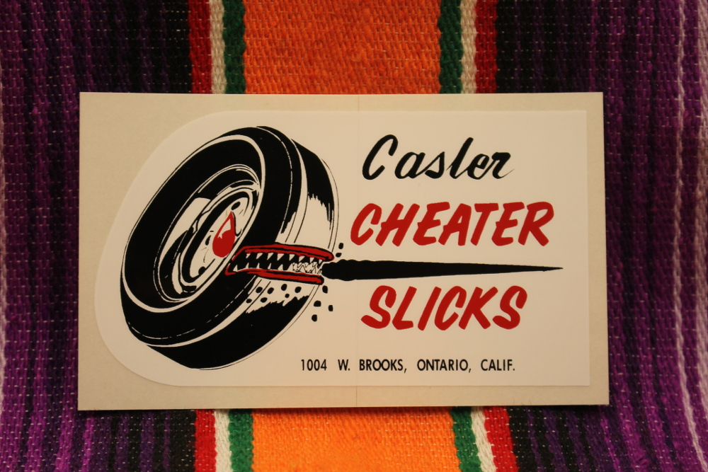 Casler Cheater Slicks Decal