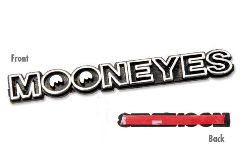 Mooneyes Mini Emblem Adhesive back