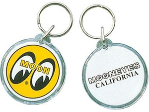 Mooneyes California Plastic Round Key Chain