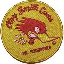Mr Horsepower Round Yellow Patch