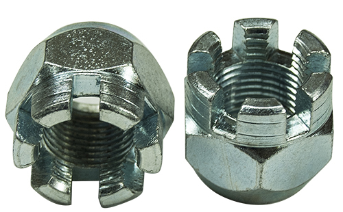 Tappered Perch Nut for Spring Perch Bolts Pair