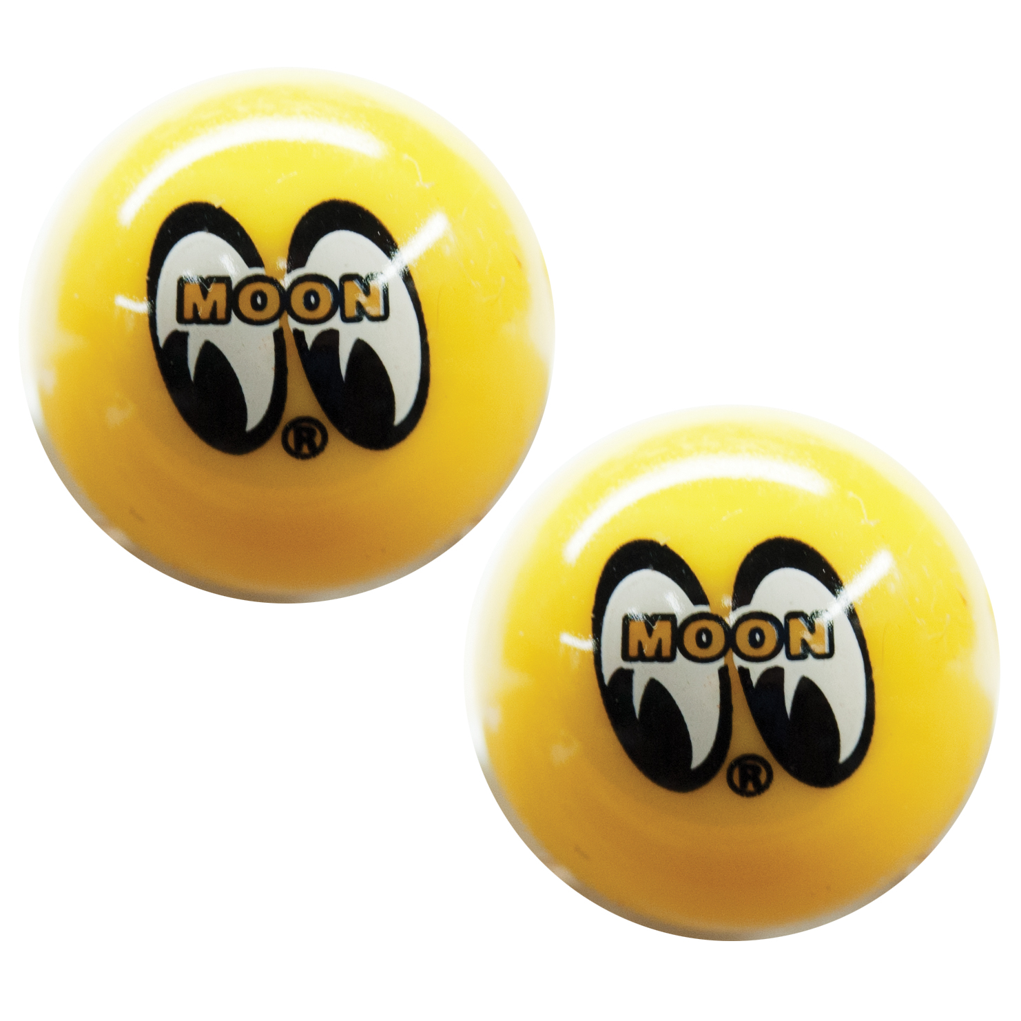 Moon Yellow Ball Valve Caps