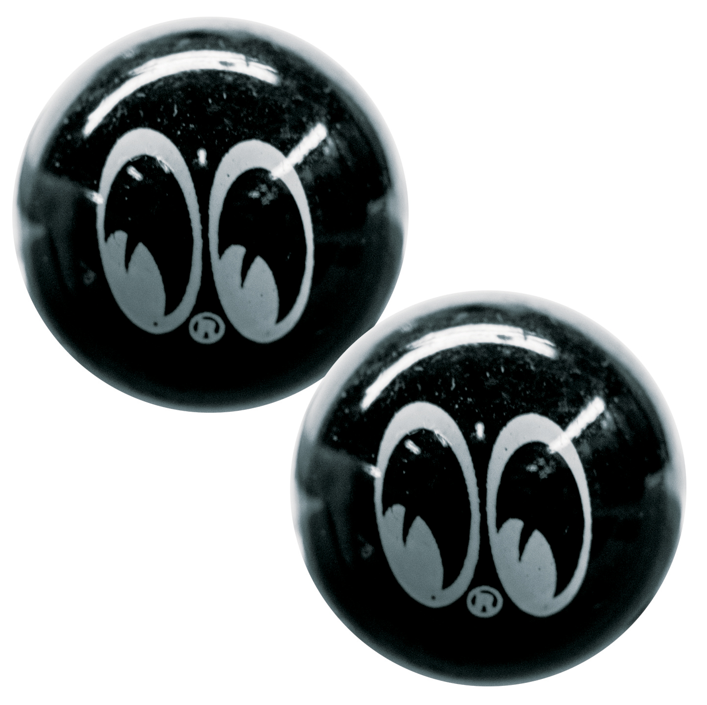 Moon Black Ball Valve Caps