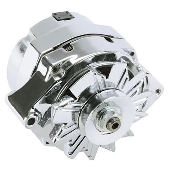 GM One Wire Chrome Alternator 100 Amp