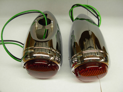 1939 Chevy Taillight Assembly Chrome
