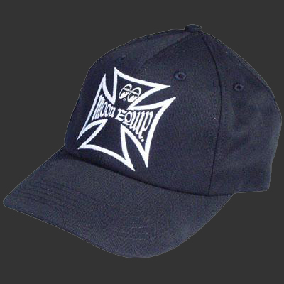 Moon Equipped Iron Cross Hat