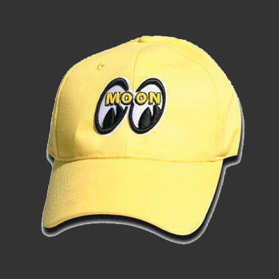 Moon Logo Hat Yellow