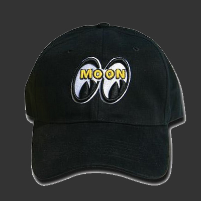 Moon Logo Hat Black