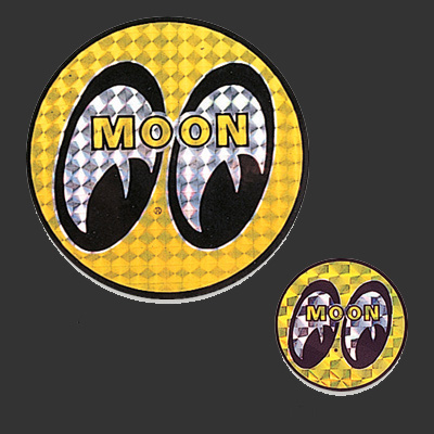 Mooneyes Prisim Sticker Round