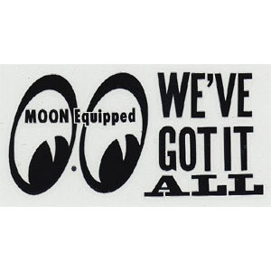 Moon We'v Got It All Sticker